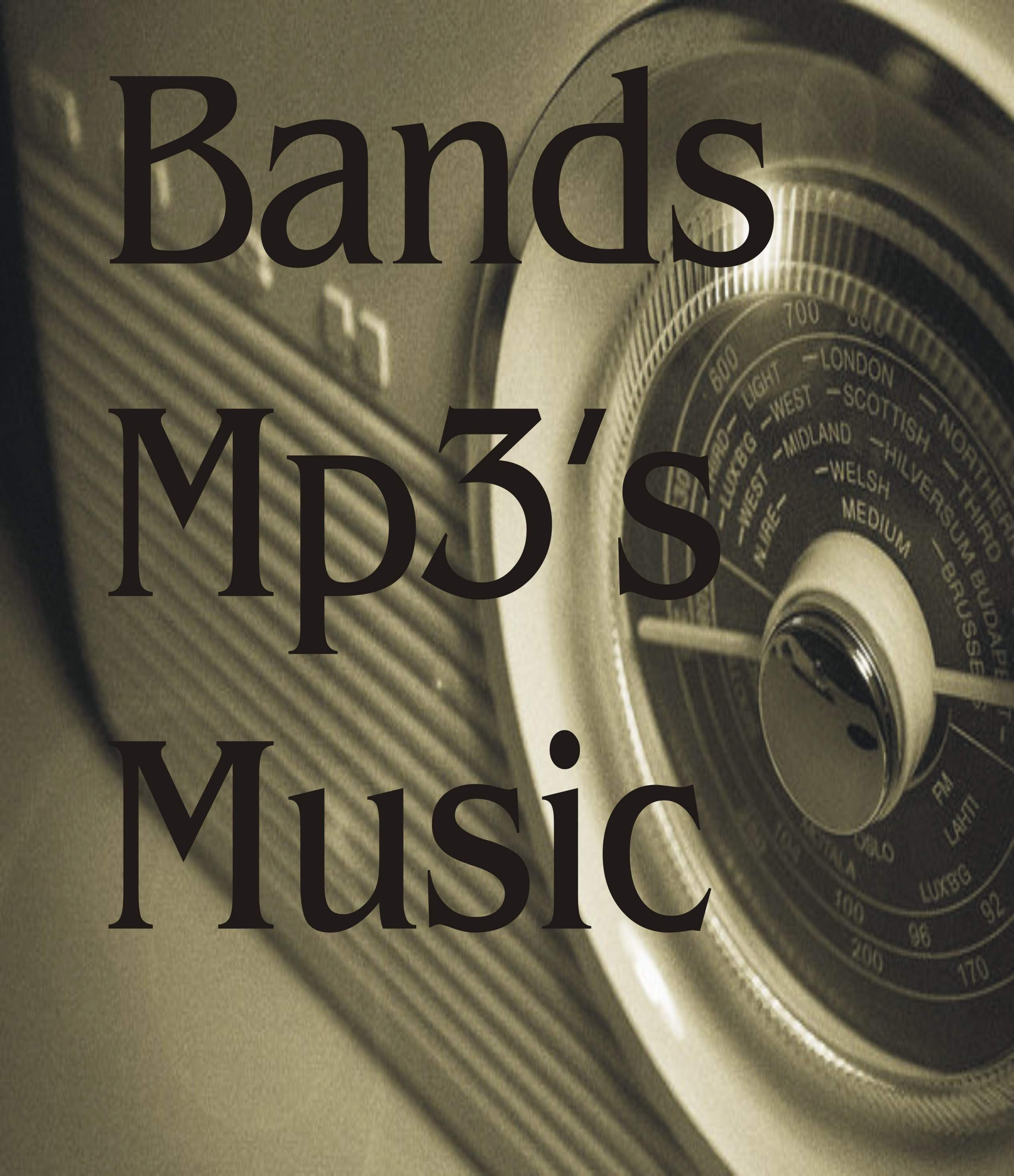 bands music and mp3s